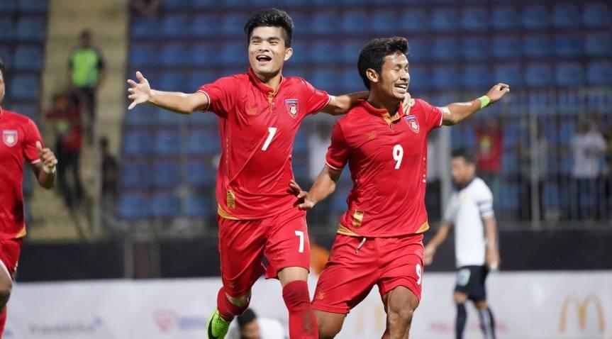 Myanmar U-22 leave it late to overcome Laos