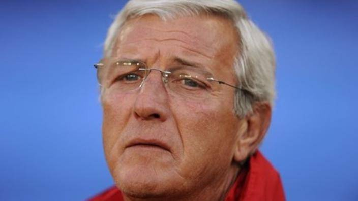 Marcello Lippi blames the flow of foreign strikers for short of Chinese strikers