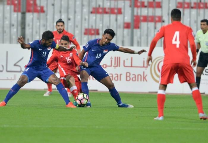 Singapore play warm-up match against Hong Kong before key Asian Cup qualifier