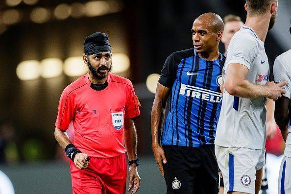 Singaporean referee Sukhbir receives racial abuses after Inter Milan-Chelsea match