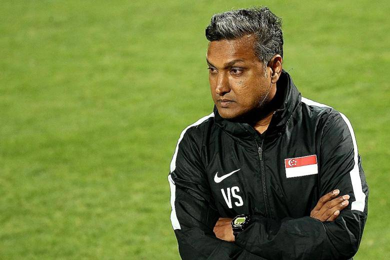 "Singapore head coach urges his side to ""step up"" amid locals' disappointment"