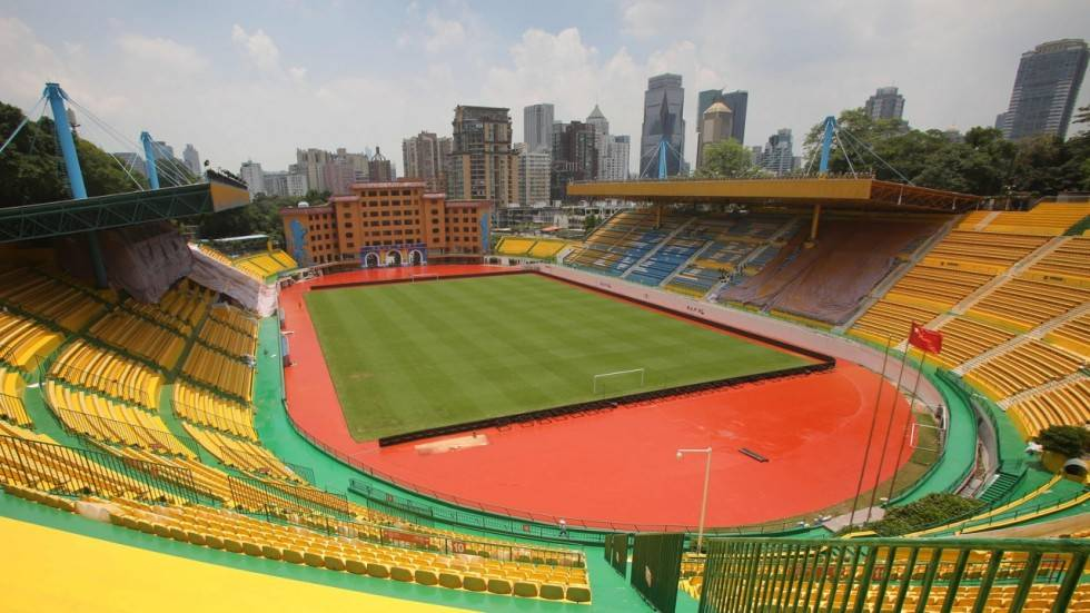 Chinese club on winning streak after repainting stadium gold for luck