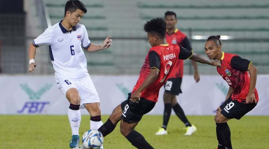 Worachit fires Thailand U-22 to first SEA Games victory over Timor Leste
