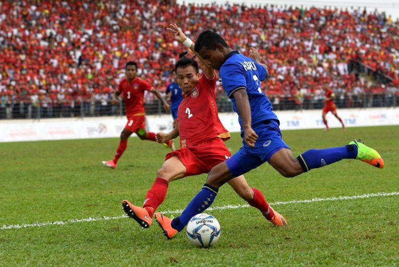 Late Chenrop goal fires Thailand to SEA Games final
