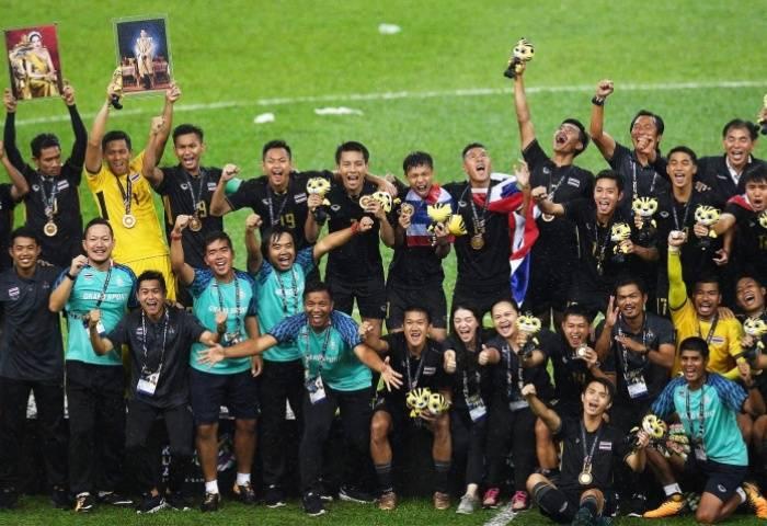 Thailand edge Malaysia for SEA Games men's football gold medal