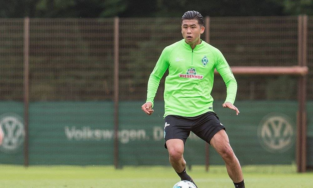 Zhang Yuning leaves Werder Bremen for Chinese National Games duty