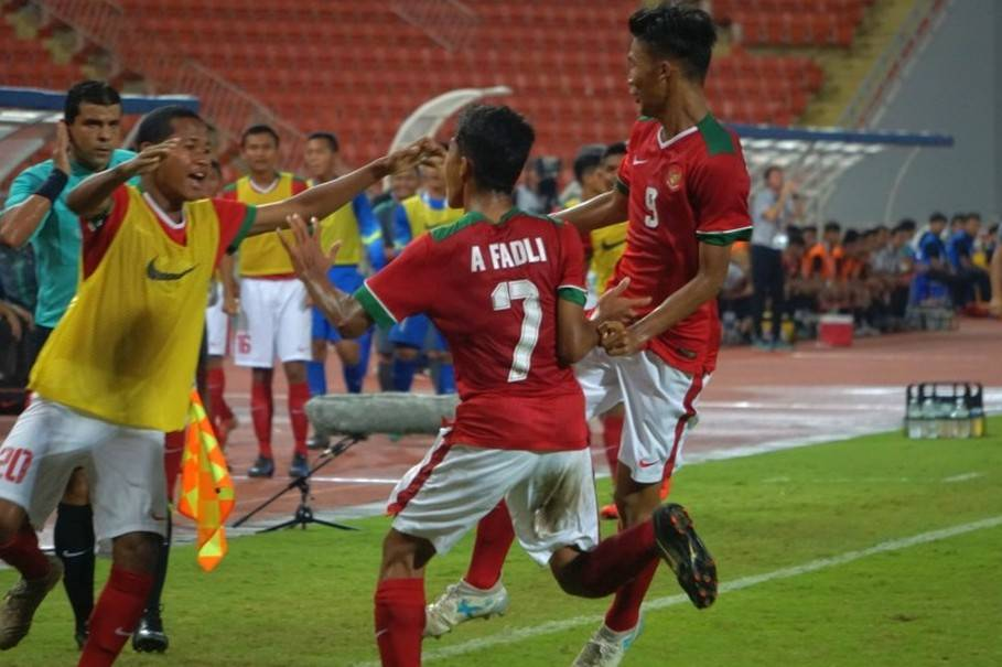 Indonesia U-16 qualify for the championship after Laos win