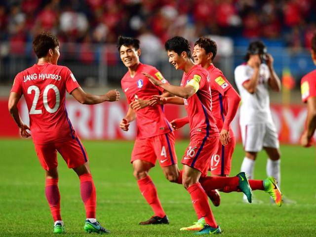 South Korea and Saudi Arabia qualify for 2018 World Cup