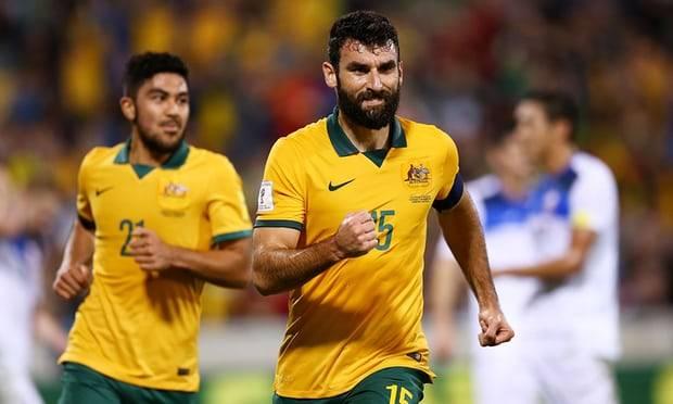 Mile Jedinak returns to Australia's squad for Syria play-off