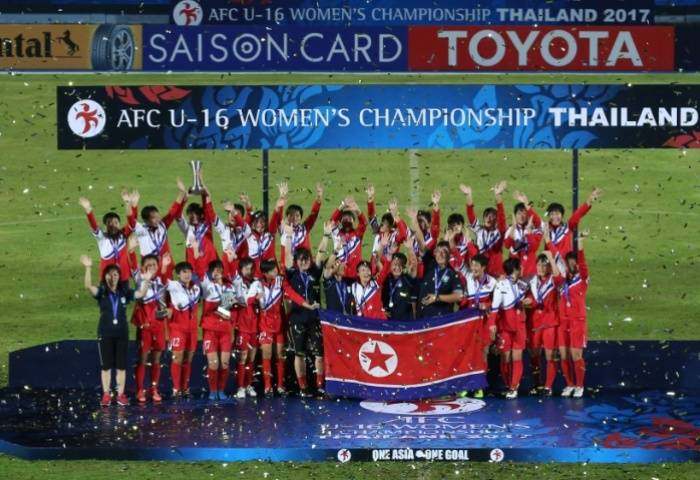 North Korea defend AFC U-16 Women's championship title