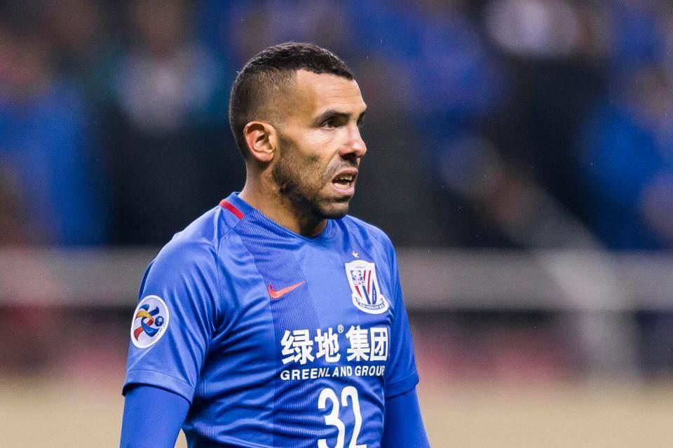 Former Shanghai Shenhua strikerCarlos Tevez announces his retirement plan