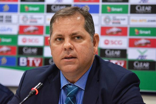 "Cambodia coach Leonardo Vitorino eyes ""historic"" victory at My Dinh"