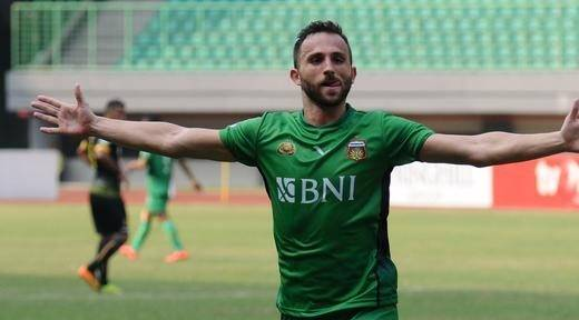 Ilija Spasojevic turns his back on Montenegro to play for Indonesia