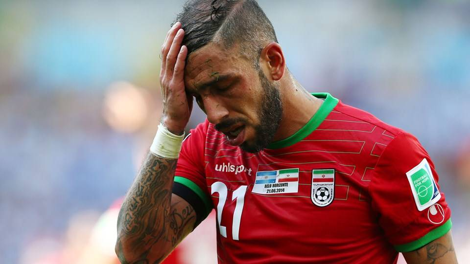 Ashkan Dejagah to miss Russia friendly due to injury