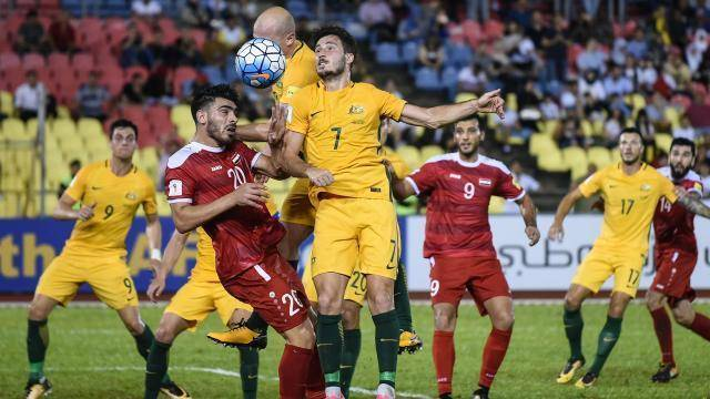 World Cup dream ends for war-torn Syria