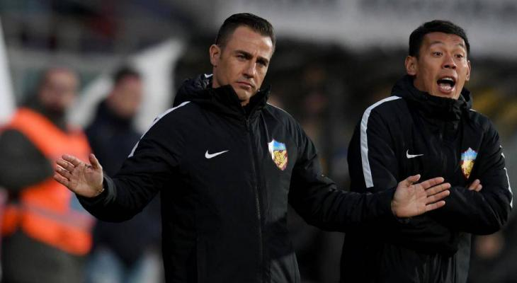 Fabio Cannavaro back for second spell as Guangzhou Evergrande coach
