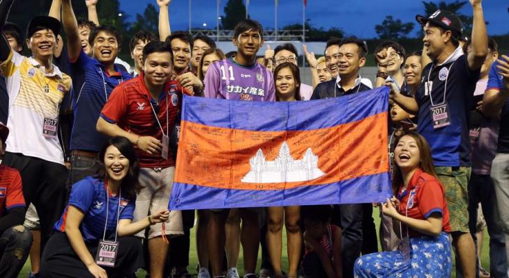 Cambodian fans furious as Chan Vathanaka plays only five minutes in his J3 League debut