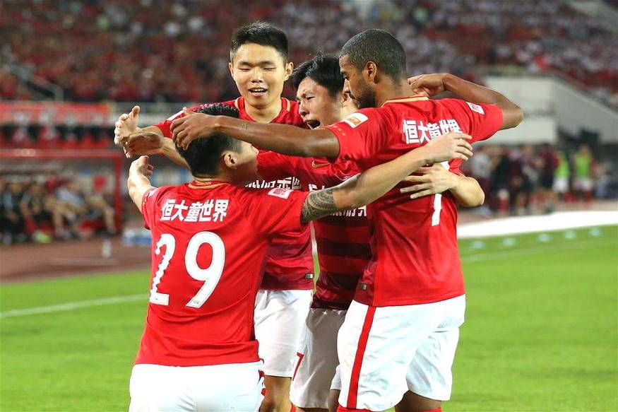 Guangzhou Evergrande claim seventh straight Chinese Super League title