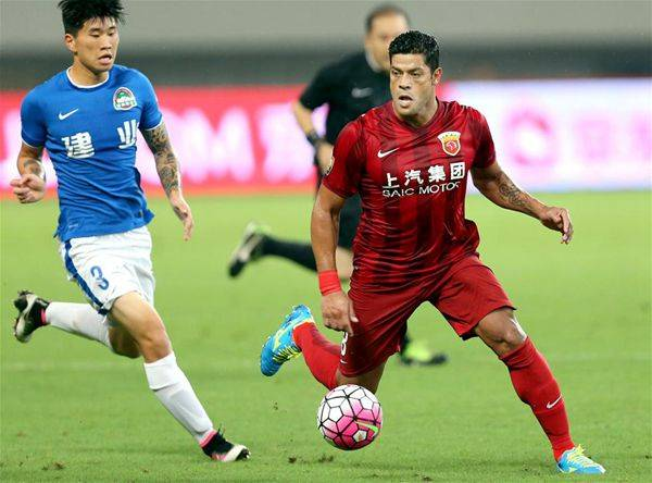 VIDEO: Hulk scores incredible free kick in Henan Jianye win
