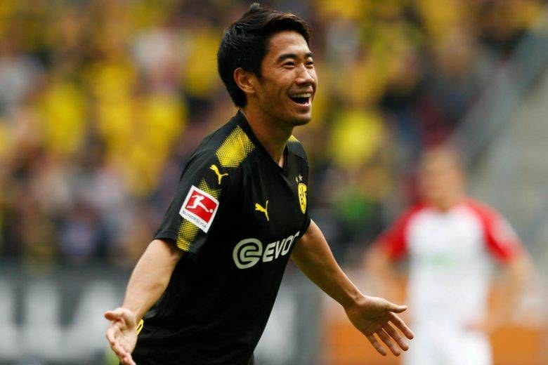 Shinji Kagawa becomes Bundesliga's all-time top Japanese scorer