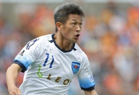 Fifty-year-old Kazuyoshi Miura plans to play on