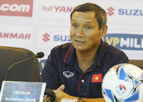 Coach Mai Duc Chung: Cambodia depend too much on Chan Vathanaka