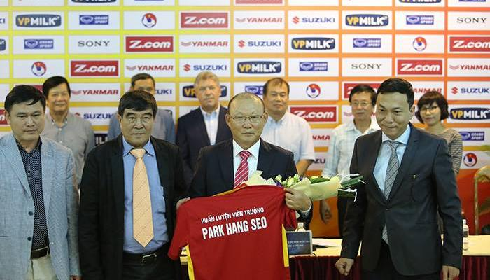 Vietnam new coach Park Hang Seo targets top 100 in FIFA rankings