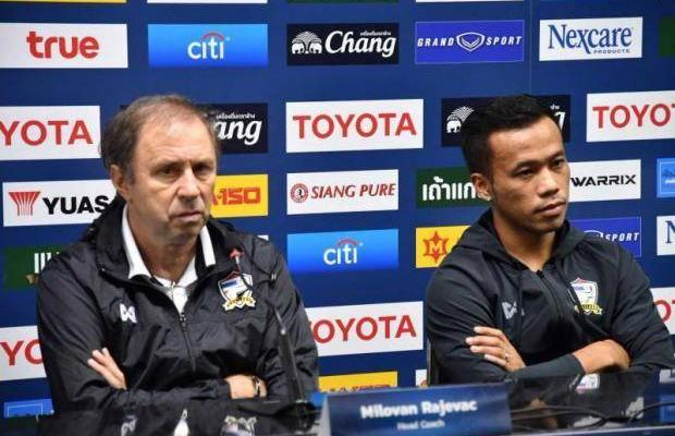 "Milovan Rajevac wishes ""lovely weather"" for Kenya friendly"