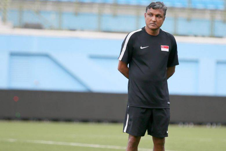 Singapore coach V. Sundramoorthy disappointed with team's defence after Qatar loss