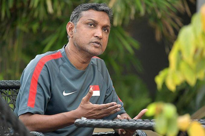 Singaporecoach V. Sundramoorthy demands goals and tactical discipline from his side