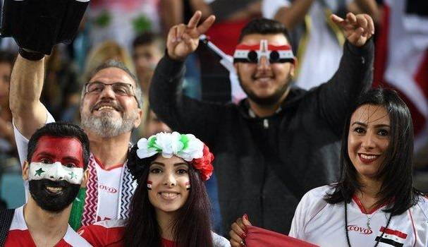Syrian fans blame high grass on Sydney ANZ Stadium on their Australia defeat