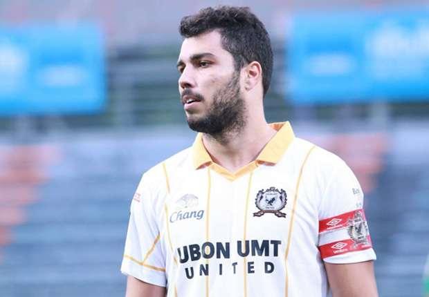 Ubon UMT United footballer Victor Cardozo