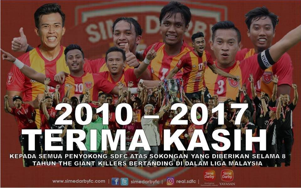 Sime Darby FC withdraw from next season's Malaysia Super League