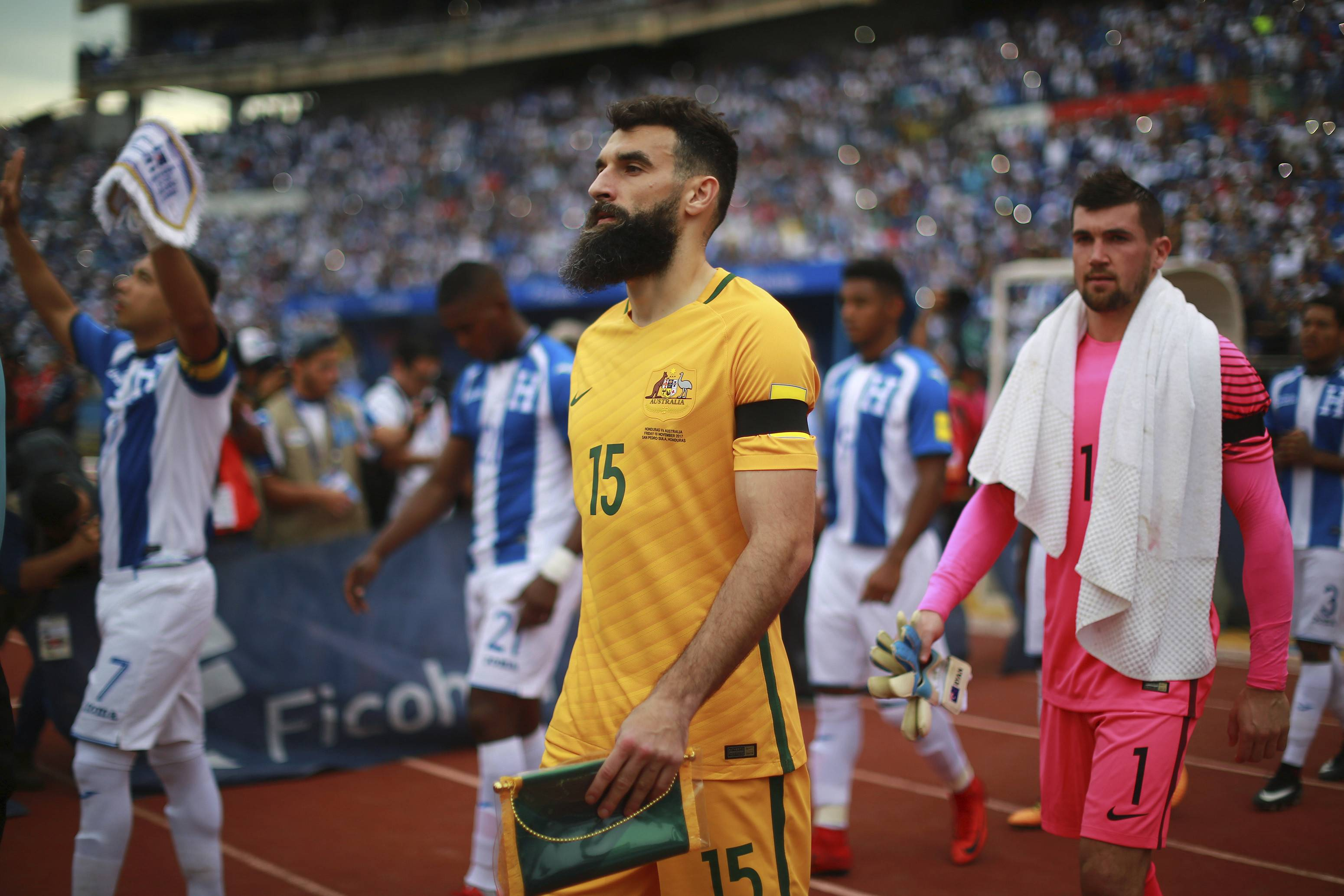 Jedinak hat-trick propels Socceroos to Russia as AFC sends five to World Cup