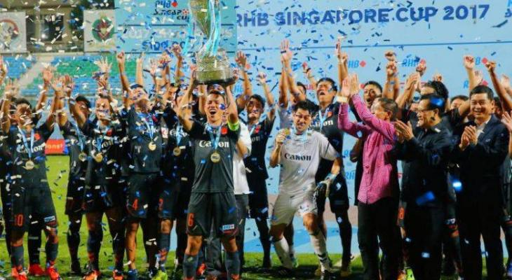 Albirex Niigata complete second straight quadruple in Singapore