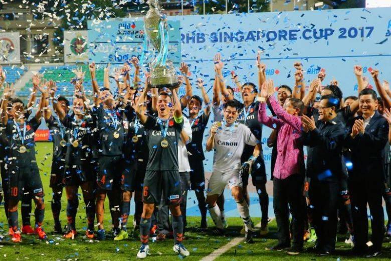 Albirex Niigata complete second straight quadruple in Singapore