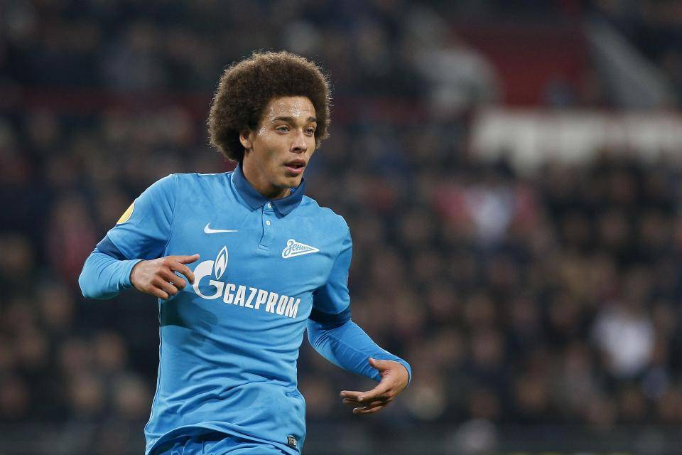 Axel Witsel on moving to China: My choice was made with money in mind