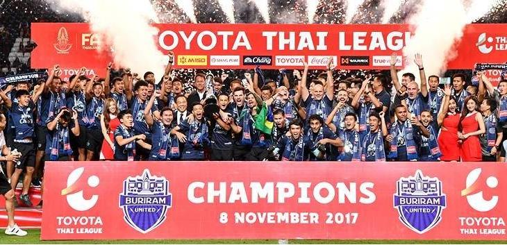 Buriram United crowned Thai League T1 champions following BEC Tero Sasana win