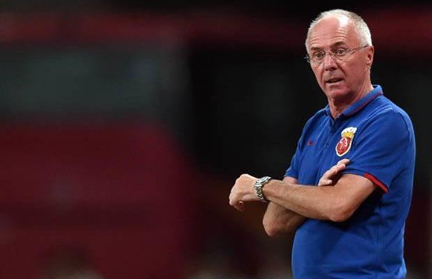 """Shenzhen FC Sven Goran-Eriksson """"would love to manage Liverpool"""