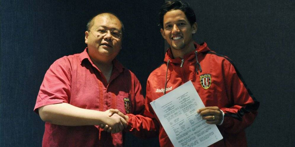 Bali United star Irfan Bachdim agrees contract extension until 2020