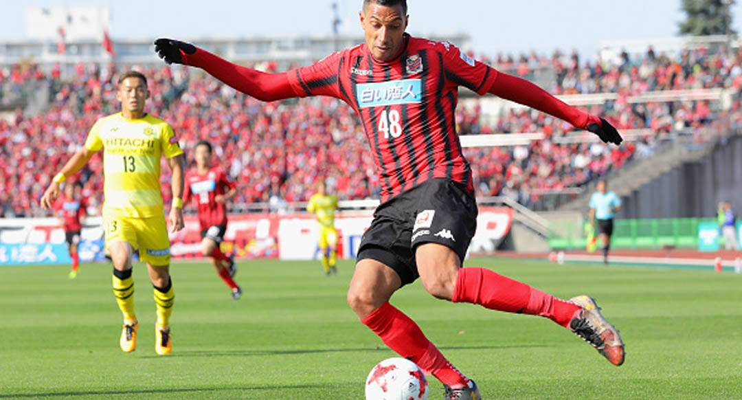 Consadole Sapporo striker Jay Bothroyd collapses on training pitch