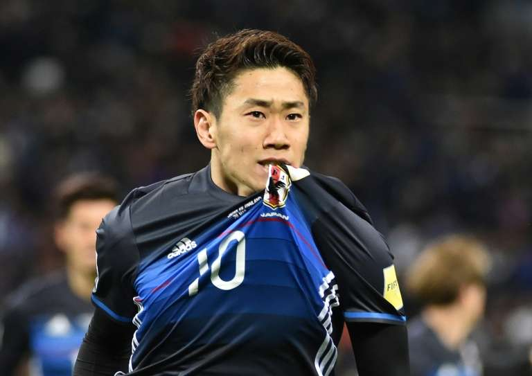 Shinji Kagawa aims a place in Japan's squad for 2018 World Cup