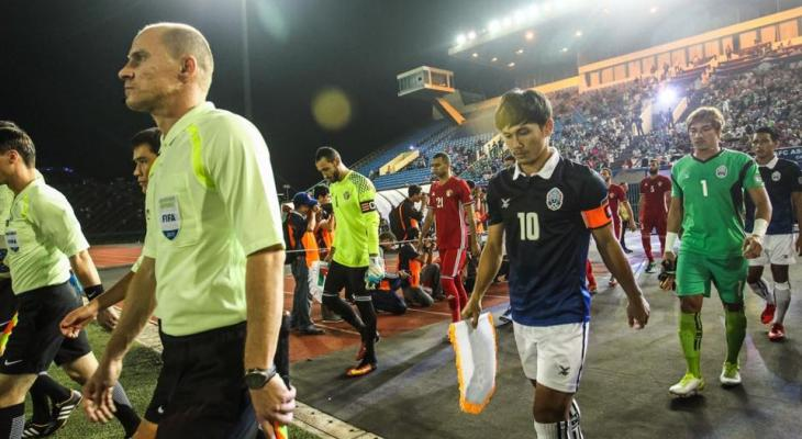 Cambodia midfielder Kouch Sokumpheak urges local supporters not to abandon the team