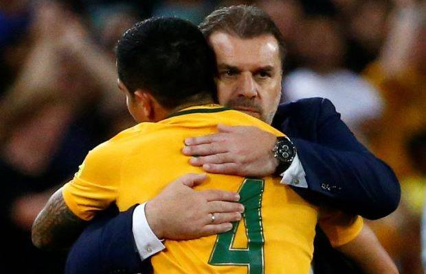 Australia coach Ange Postecoglou remains tight-lipped about future
