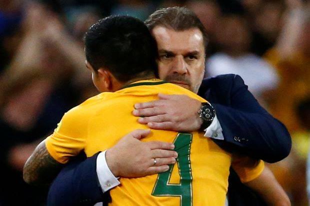 Australia coach Ange Postecoglou remains tight-lipped about future