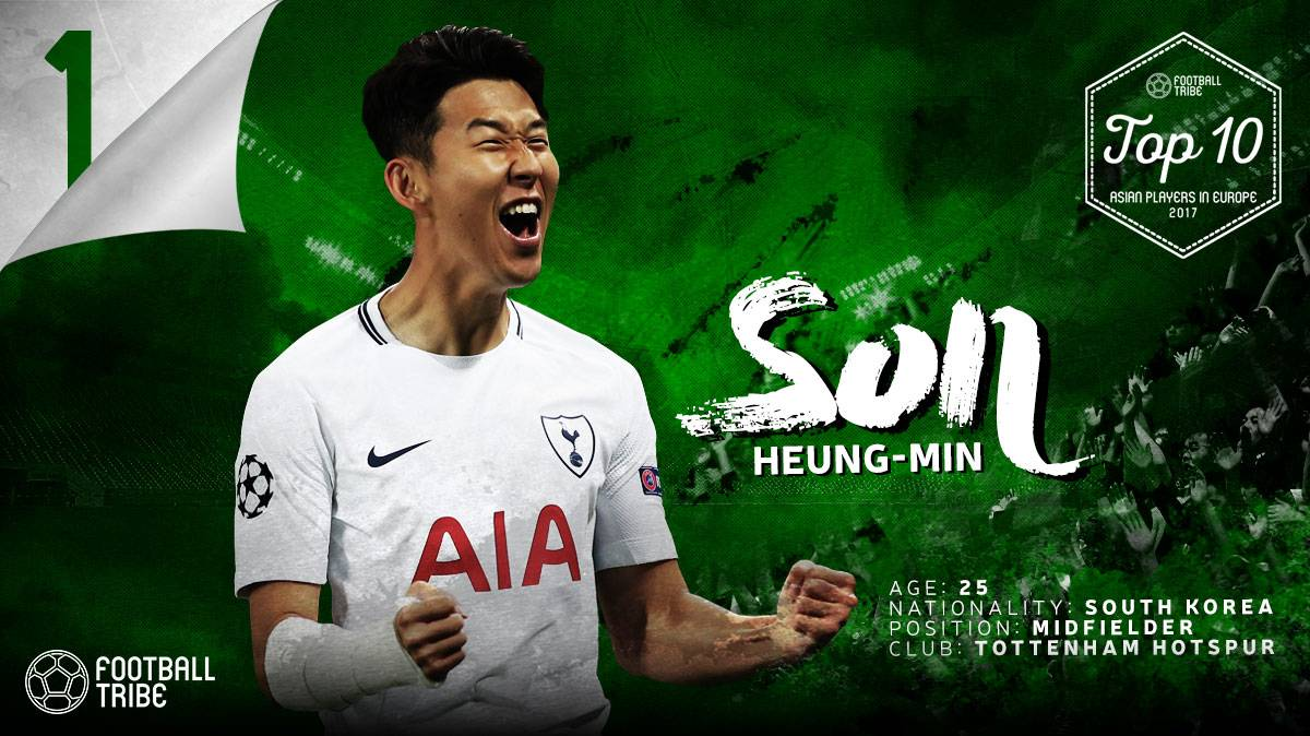 Football Tribe Awards: Top 10 Asian Players in Europe (3-1