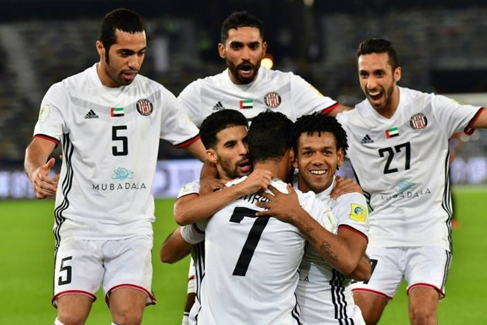 Al Jazira beat Urawa Reds Diamonds to face Real Madrid in Club World Cup semi