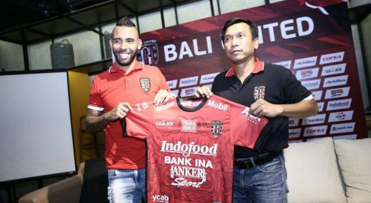 Former Chapecoense defender Demerson signs one-year contract with Bali United