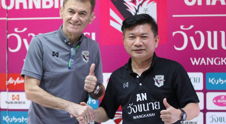 Chainat Hornbill appoint former Persib Bandung boss Drago Mamic as head coach
