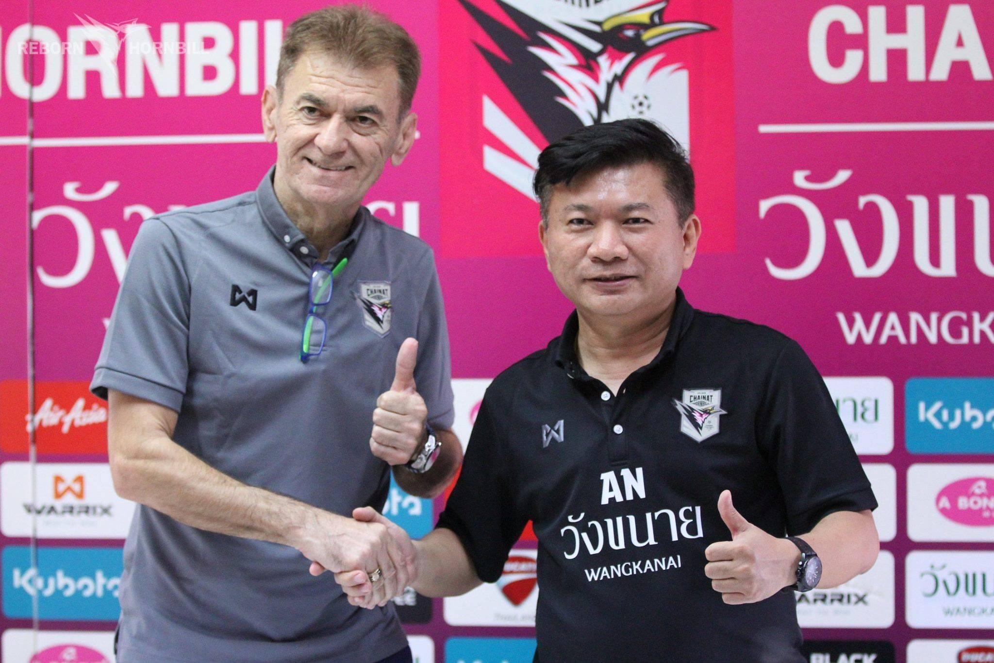 Chainat Hornbill appoint former Persib Bandung boss Drago Mamic as head coach